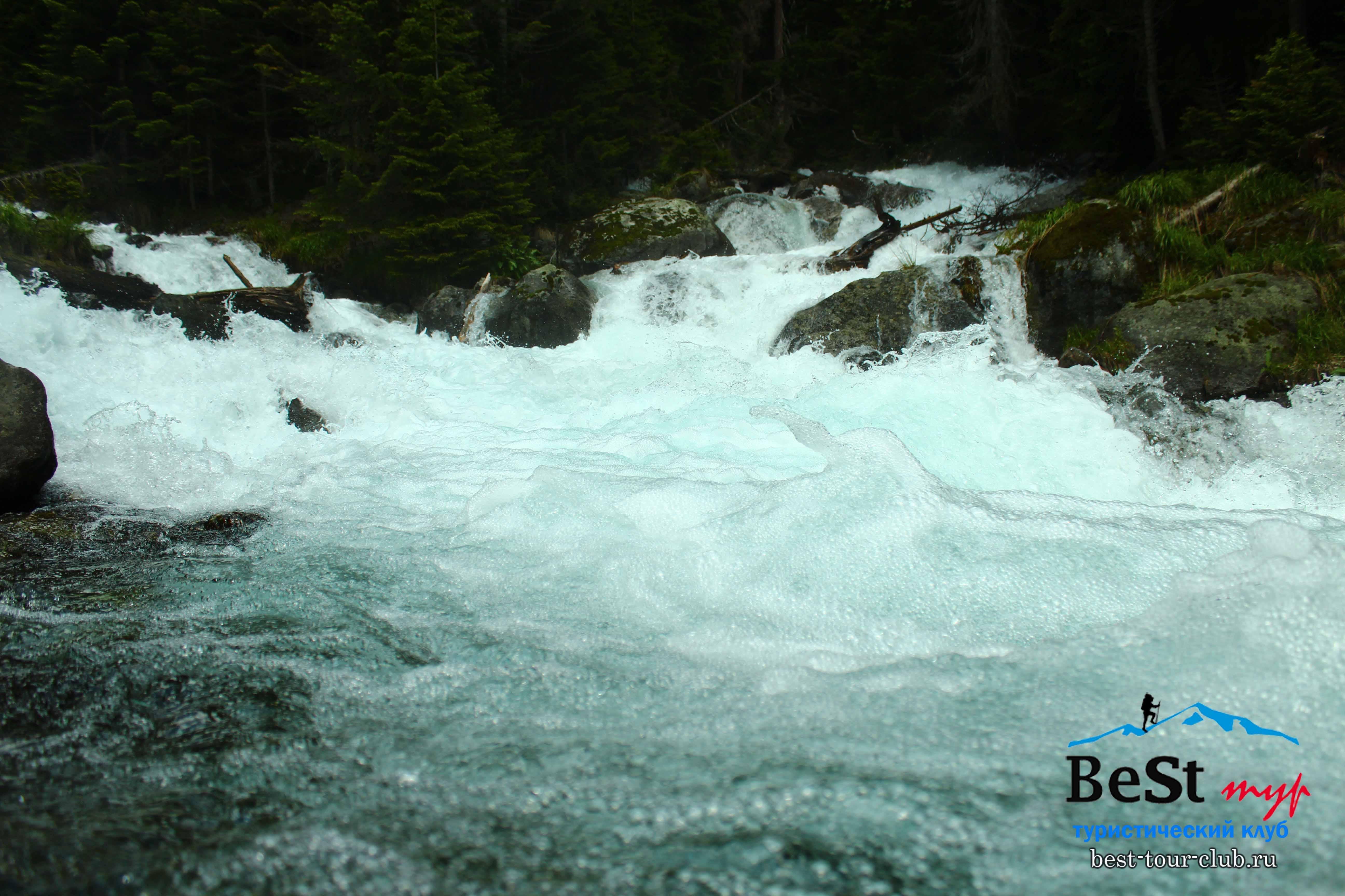 Слияние рек Бадук и Хаджибей