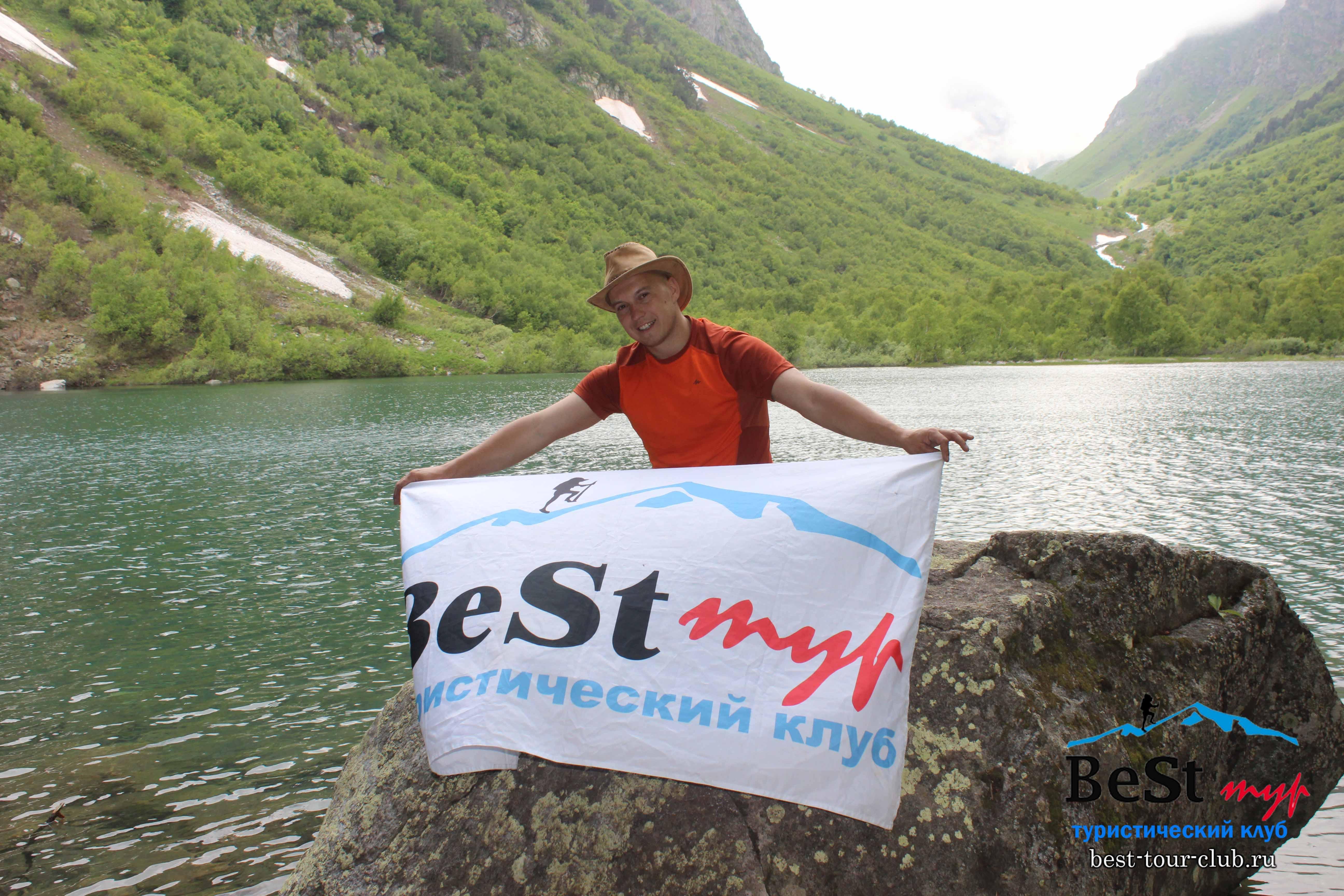 Наш гид третье Бадукское озеро