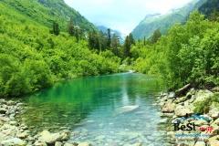 Вот оно первое Бадукское озеро