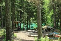 Место для отдыха на втором озере Бадукское озеро