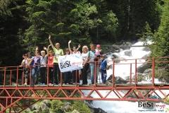 Бадукские озера мост