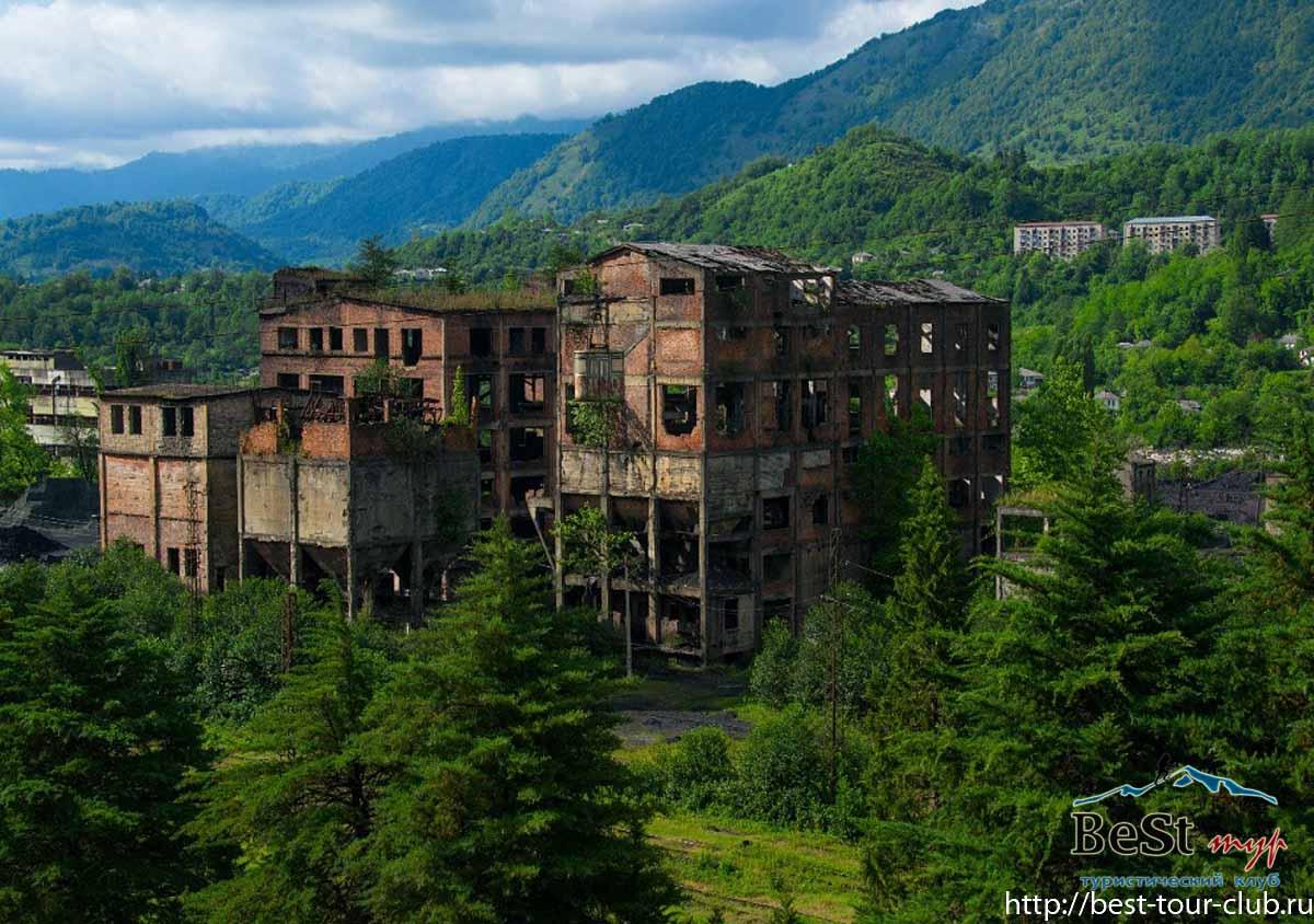 С 17 по 20 октября тур по затерянной Абхазии