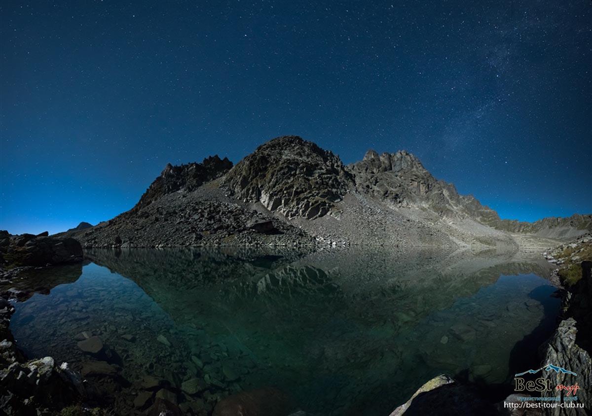 С 3 по 4 сентября поход по голубому ожерелью Азгекских озер.