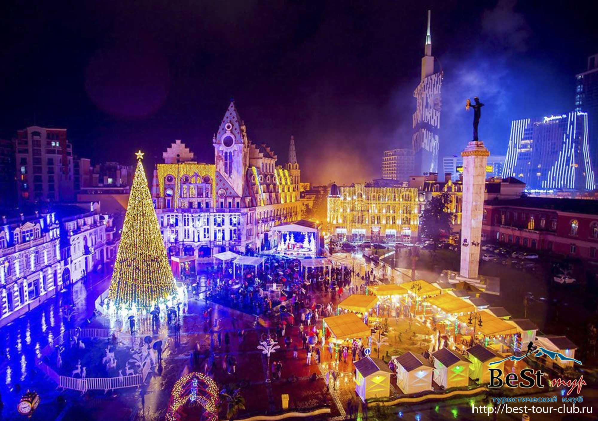 С 30 декабря по 4 января Новогодний тур в Батуми и Турцию