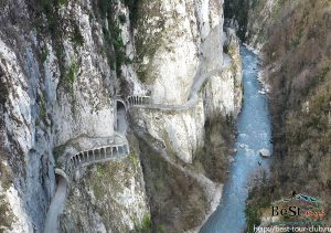 С 22 по 24 января тур по лучшим водопадом черноморья + Хашупсинский каньон и Ущелье Ахцу.